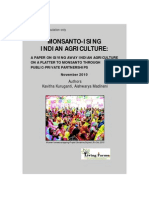 Monsanto-ising Indian Agriculture by Kavitha Kuruganti and Aishwarya Madineni