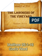the Parable of Laborers of the Vineyard