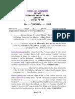 Perjanjian Kerjasama
