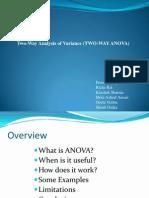 ANOVA Presentation