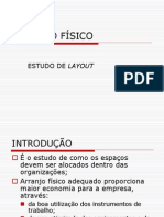 Aula 14 - Arranjo Físico Ou Layout