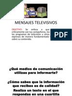 MENSAJES TELEVISIVOS
