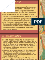 A Teacher's Story - Teddy Case