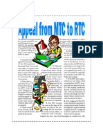 Appeal From MTC to RTC in Civil Cases