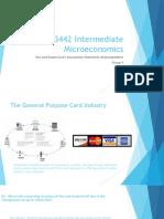 EF3442 Intermediate Microeconomics
