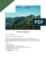 Chapter3 Landscape