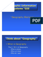 """""""Geography Matters"""""""