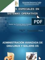 Modulo I - Topicos Especiales Sistemas Operativos