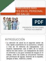 Enfermedades Más Frecuentes en El Personal de Salud