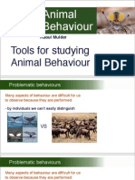 Animalbehav_Keynote PDFs_04. Tools for Studying Animal Behaviour