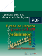Igualdad Democracia Incluyente- USAID ASDI