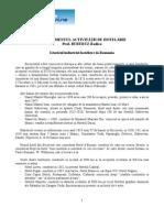 Managementul Activitatilor de Hotelarie