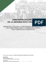 Dimension Política de la reparacion colectiva