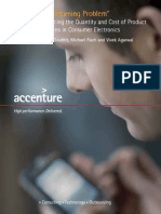 Accenture Reducing the Quantity and Cost of Customer Returns