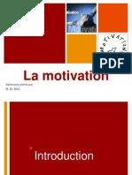 44088248 La Motivation en Entreprise