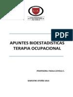 Apuntes Bioestadisticas to 2014