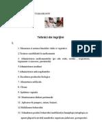Tematica Proba Profesionala 079