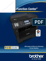 MFC-8510dn 2 Page Brochure