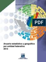 Anuario Estadistico y Geografico Por Entidad Federativa_2013 - InEGI