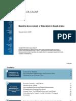 Baseline Assessment Saudi