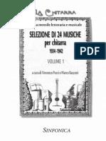 24 Musiche La Chitarra Vol. 1