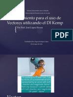 adiestramiento para el uso de vectores utilizando el di kemp
