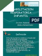 MA Redondo- Rehabilitacion Respiratoria Infantil