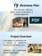 BAKERY Business plan | Net Income | Revenue