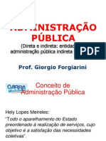 Administracao Publica GARRA