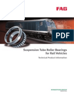 Suspension Tube Roller Bearings for Rail Vehicles