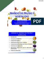 1.3 - Manejo de Frutas y Verduras