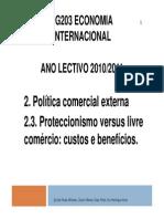 Economia Internacio Comercio Livre