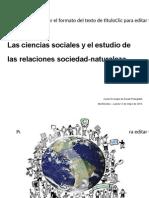 CCSS Naturaleza y Sociedad