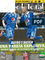 Futbol Total Nº 158 [Colombia] 20.04.2014