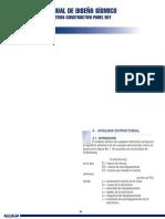 Manual Diseño Sismico. Sistema Constructuvo Panel Rey