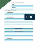 Formato Descriptor Del Puesto(2)