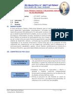 Programación Anual - Unidades Pfrh 4to 2014 Ie Pichuy