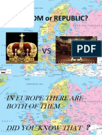 kingdom or republic