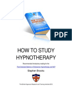 How to Study Hypnotherapy- Stephen Brooks