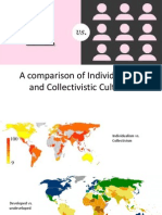 individualistic vs  collectivistic values