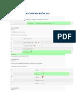 AUTOEVALUACIÓN - CIRCUITOS DIGITALES