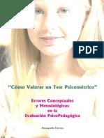 Cómo Valorar Un Test Psicométrico 2011