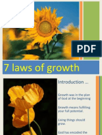 7 Laws of Growth