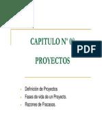Diagrama de GANT-Proyectos-Cap 8 y 9