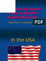 Community-Based Care in Mental Health Nursing
