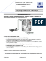 Exercices de Programmation TIA-Step7