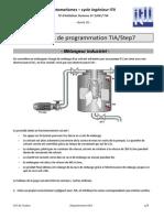 Exercices de Programmation TIA-Step7