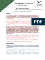 10 - XI Exame - Recurso Especial (Art. 105, III, A, CF) - Padrão de Resposta