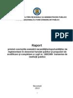 Raport Final Chestionare Legea 188 (Cu Anexe)