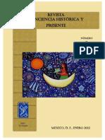 Revista Conciencia Histórica y Presente. 1ra Edición. PDF